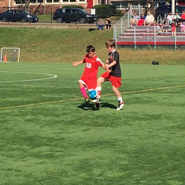 JV Boys battled up at Plank Field